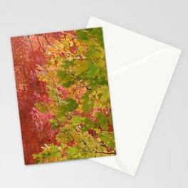 Fall stroll  Stationery Cards