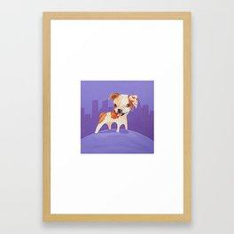 Becker's Dog Framed Art Print