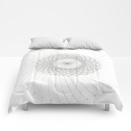 Geometrical Sunflower Comforters