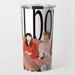 ¿al borde de que? Travel Mug
