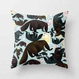 Zibellina Marten Vintage Throw Pillow