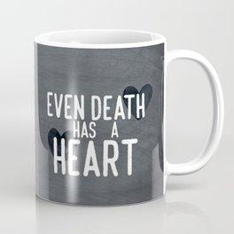 The Book Thief - Even Death Has a Heart Coffee Mug