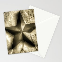 Texas Lone Star - 4 Stationery Cards
