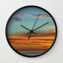 Ponce Inlet Sunrise Wall Clock