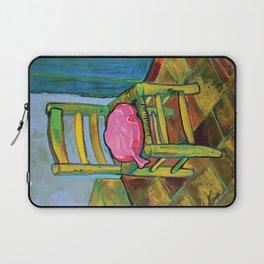 Van Gogh Chair with Whoopi Cushion Laptop Sleeve