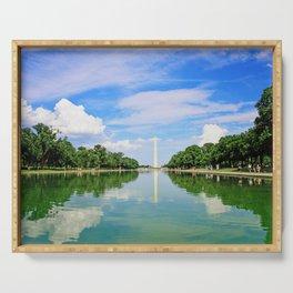 Washington Memorial Serving Tray