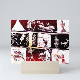 Kay Lipton at Work in Nova Scotia, Canada Mini Art Print