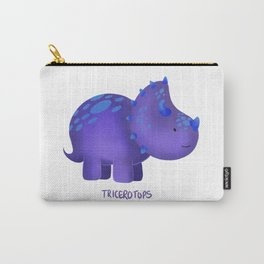 Tricerotops Carry-All Pouch