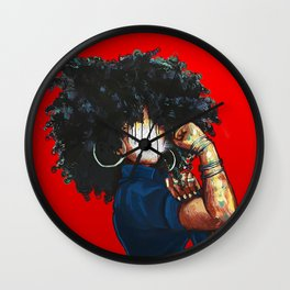 Naturally the Riverter RED Wall Clock
