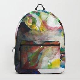 FRIEDRICH NIETZSCHE - watercolor portrait.4 Backpack