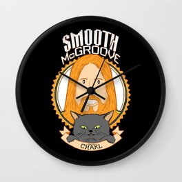 Smooth McGroove Wall Clock