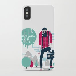 Let's skate  iPhone Case