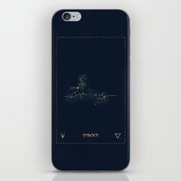 Pisces Constellation iPhone Skin