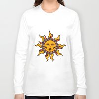 sublime Long Sleeve T-shirts featuring Sublime Sun #2 Psychedelic Character Design Logo by CAP Artwork & Design