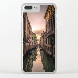 Canal of Venice Clear iPhone Case