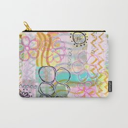 Flowers and Circles and Lines, Oh My! Carry-All Pouch