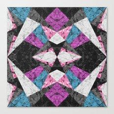 Marble Geometric Background G438 Canvas Print