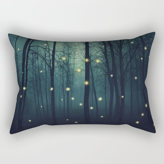 Enchanted Trees Rectangular Pillow