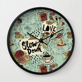 Slow Down Wall Clock