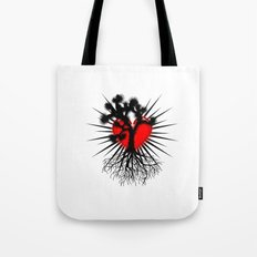 Joshua Tree Heart of the Hi Desert by CEYES Tote Bag