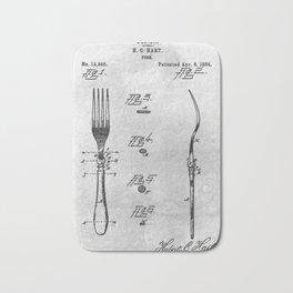 1884 Fork Bath Mat