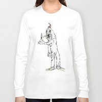yeti Long Sleeve T-shirts featuring Yeti by Czartoonist