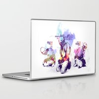 new order Laptop & iPad Skins featuring NEW ORDER by Ƃuıuǝddɐɥ-sı-plɹoʍ-ɹǝɥʇouɐ