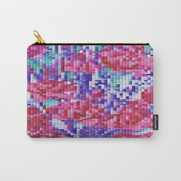 Carnation Cross Stitch Carry-All Pouch