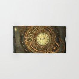 Noble steampunk clockwork Hand & Bath Towel