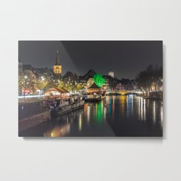Colors of Strasbourg Metal Print