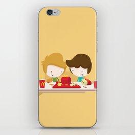 Fast Food Love iPhone Skin