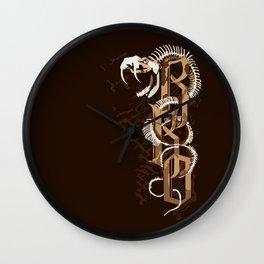 RKO Snake bone iPhone 4 4s 5 5c 6, pillow case, mugs and tshirt Wall Clock