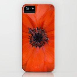 Poppy Square iPhone Case