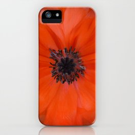 Poppy Square iPhone Case