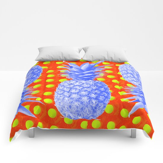 Pineapple Oyster Comforters