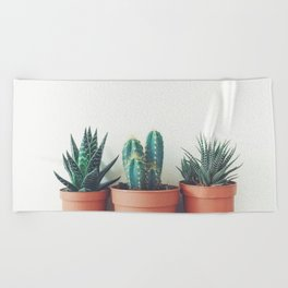 Potted Plants Beach Towel
