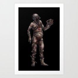 Amnesia - Grunt Art Print
