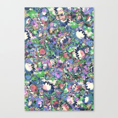 Flower Explosion Canvas Print
