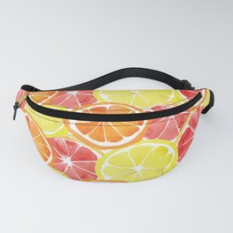 Grapefruit Lemon Orange Pattern Fanny Pack