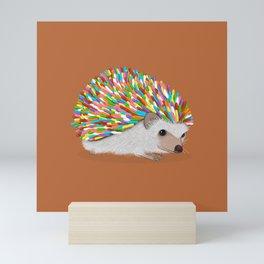 Hedgehog Sprinkles Mini Art Print
