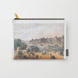 Paris art print Paris Decor office decoration vintage decor LAC BOIS BOULOGNE of Paris Carry-All Pouch