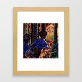 Hansel and Grethel/Hansel and Gretel Framed Art Print