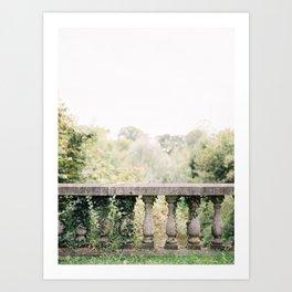 Castle van Poeke Garden Art Print