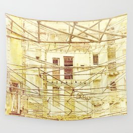 Under Conctruction Wall Tapestry