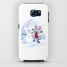 Snow Mouse iPhone Case