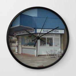 Wilkes Shellfish Bar Wall Clock