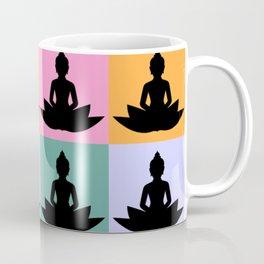 Buddha meditate vintage Coffee Mug