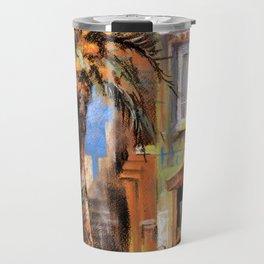 Outdoor cafes Travel Mug