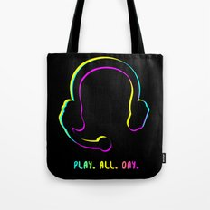 Play. All. Day. Tote Bag