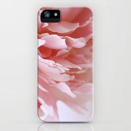 Peony Pink iPhone Case